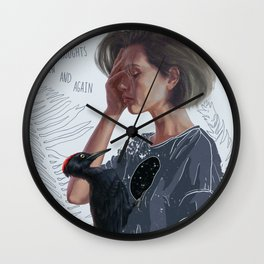 Over and Over Wall Clock