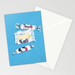 White Rabbit Candy 2 Stationery Cards
