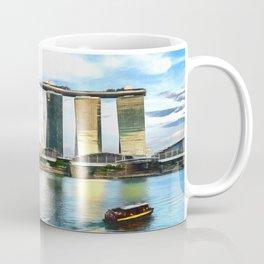Hotel Marina Bay Sands and ArtScience Museum, Singapore Coffee Mug
