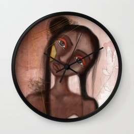 Leone, the Clown Wall Clock