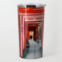 Torii Tunnel Travel Mug