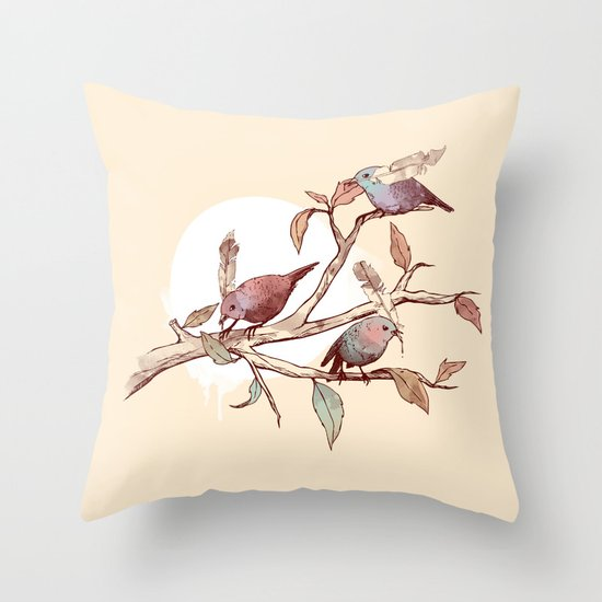Unwritten Throw Pillow