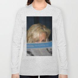 Girl With Umbrella Long Sleeve T-shirt