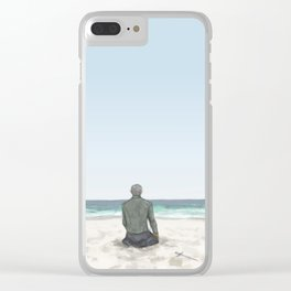 Rowan on the Beach Clear iPhone Case