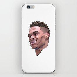 "Westbrook ""What?"" iPhone Skin"