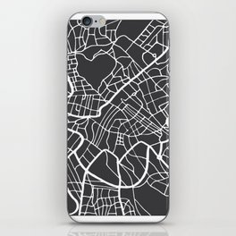 Rome Map in Retro Style. Hand Drawn. iPhone Skin