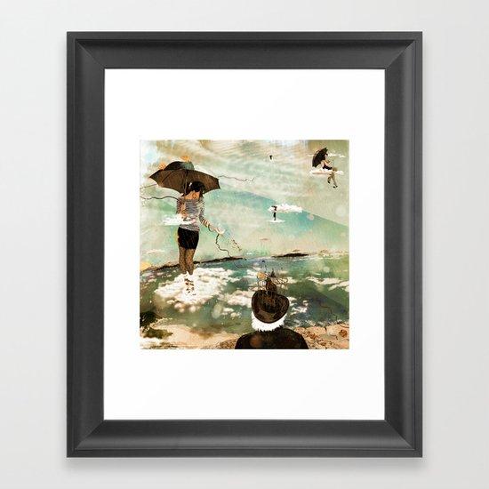 CLOUDWALKERS ONE Framed Art Print