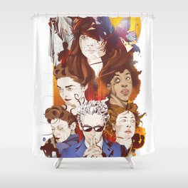 The twelfth hour Shower Curtain