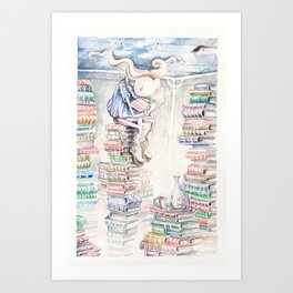 The Unreachable Ceiling Art Print