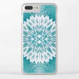 Chrystal in the distance Clear iPhone Case
