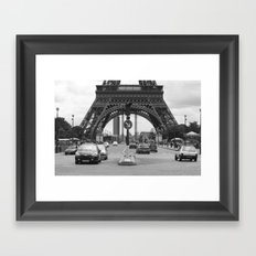 Paris transport Framed Art Print