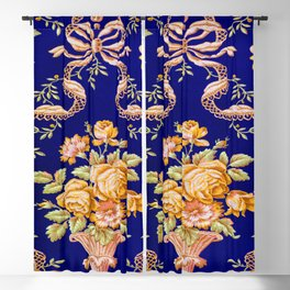 Zuber and Cie Floral Brocade Blackout Curtain