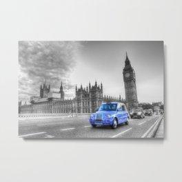Westminster Bridge Evening Metal Print