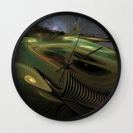 Spirals 1 Wall Clock