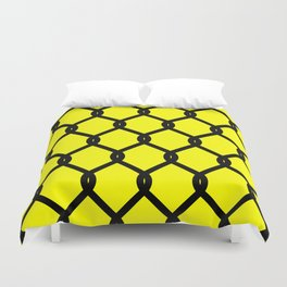 Chain-Link Fence (from Design Machine archives) Duvet Cover