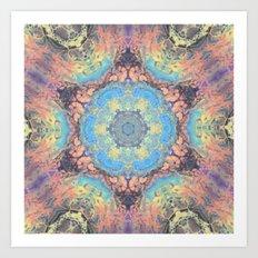 Kaleidoscope 4a Art Print