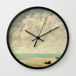 The Calm Sea - Gustave Courbet Wall Clock