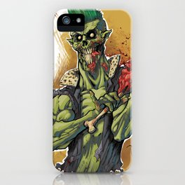 Yummy Zombie iPhone Case
