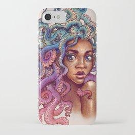 Sea Foam Freckles iPhone Case