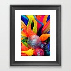 Rainbow of colors Framed Art Print