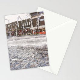 wakefield water fountain Stationery Cards