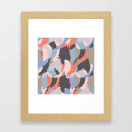 Modern abstract print Framed Art Print