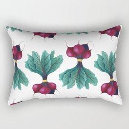 beet bunch Rectangular Pillow