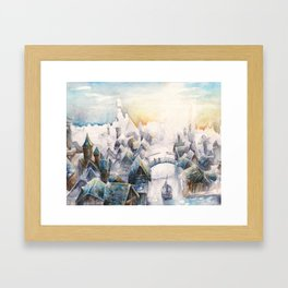 Esgaroth Framed Art Print