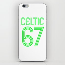 Celtic 67, the Lions of Lisbon iPhone Skin