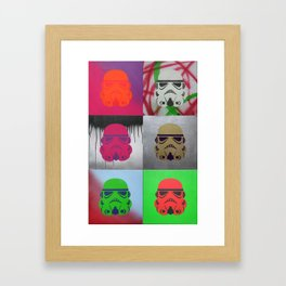 Troopers Framed Art Print