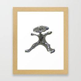 A Boy Made Of Shells Framed Art Print