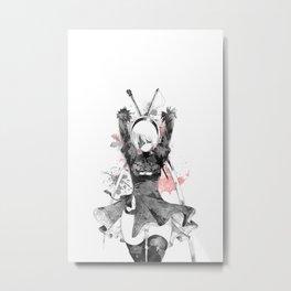 2B Metal Print