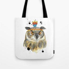Grumpy Owl! Tote Bag