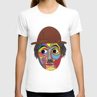 charlie chaplin T-shirts featuring Charlie Chaplin by JeeArt