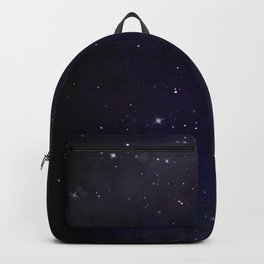 Midnight Celestial Galaxy Painting Backpack