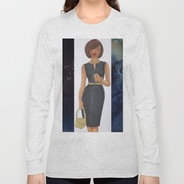 The Woman In Black Long Sleeve T-shirt