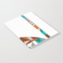 mid-century cat Notebook