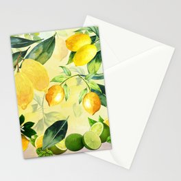 In the Lemon Orchard Stationery Cards