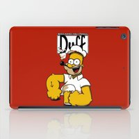 popeye iPad Cases featuring Homer-Popeye by le.duc