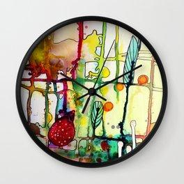 the mama (bright) Wall Clock