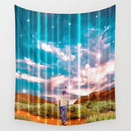 TRAVELLING LIGHTS Wall Tapestry