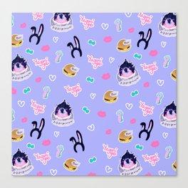 Tamaki Dango pattern Canvas Print
