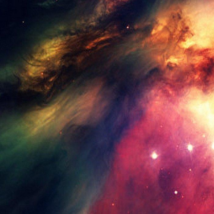 Orion NEbula Dark & Colorful : Hauntingly Beautiful Series Leggings