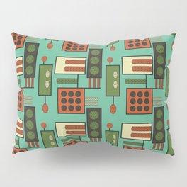 Retro Geodesic Pillow Sham