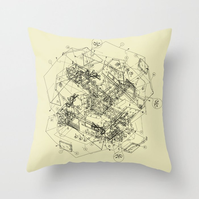 The Way Back Throw Pillow