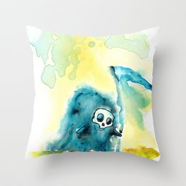 Ankle Scyther Throw Pillow