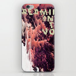 screaming into the void iPhone Skin