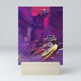 Gundam 40th Anniversary Psycho Gundam Mini Art Print