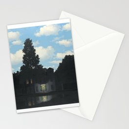 The Empire of Light - Rene Magritte Stationery Cards