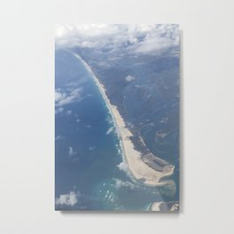 The Spit Gold Coast Australia Metal Print